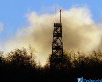 Küppelturm im Morgenrot Sonnenspiegelumg 010