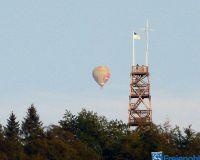 Küppelturm mit Heißluftballon Montgolfiade 226